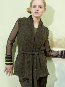 DONEGAL GILET Free Pattern