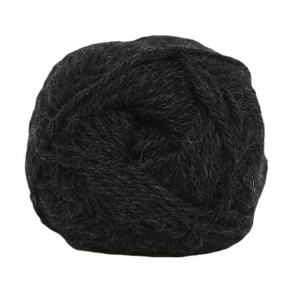Hjertegarn LIMA dark grey