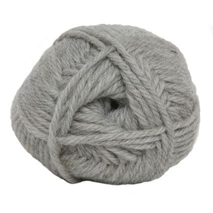 Hjertegarn LIMA light grey