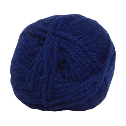 Hjertegarn LIMA royal blue