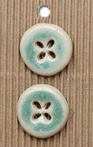 Incomparable BUTTONS L599 - jade glaze x 2