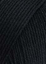 Lang Yarns MERINO 150 black 4