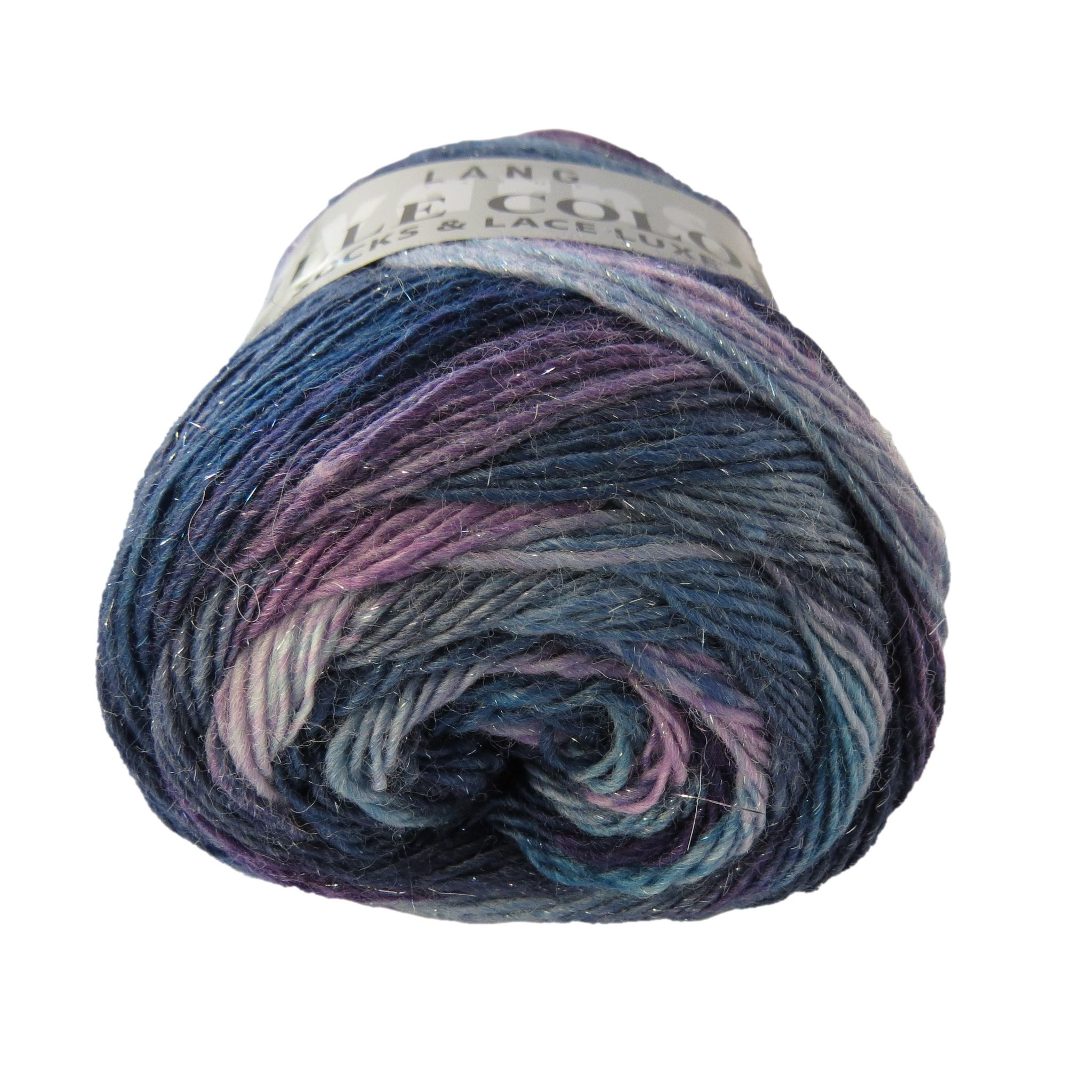Lang Yarns MILLE COLORI Socks & Lace LUXE 25