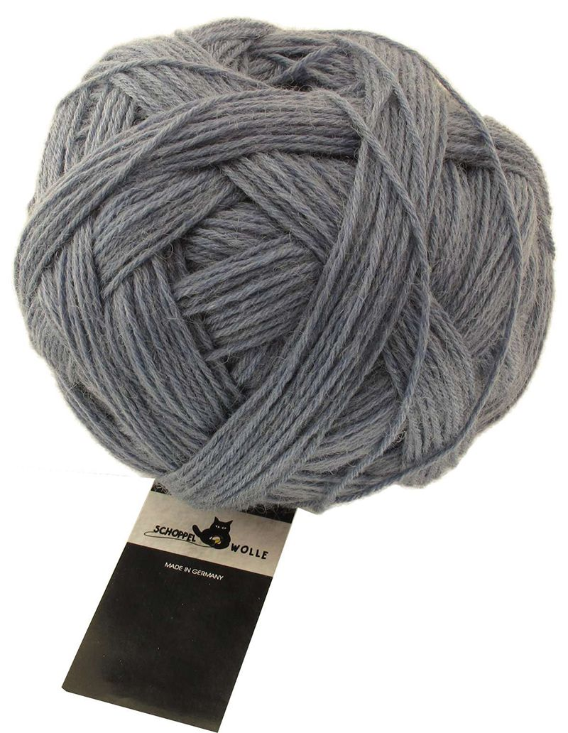 Schoppel-Wolle ADMIRAL 6-ply 9220m light grey melange
