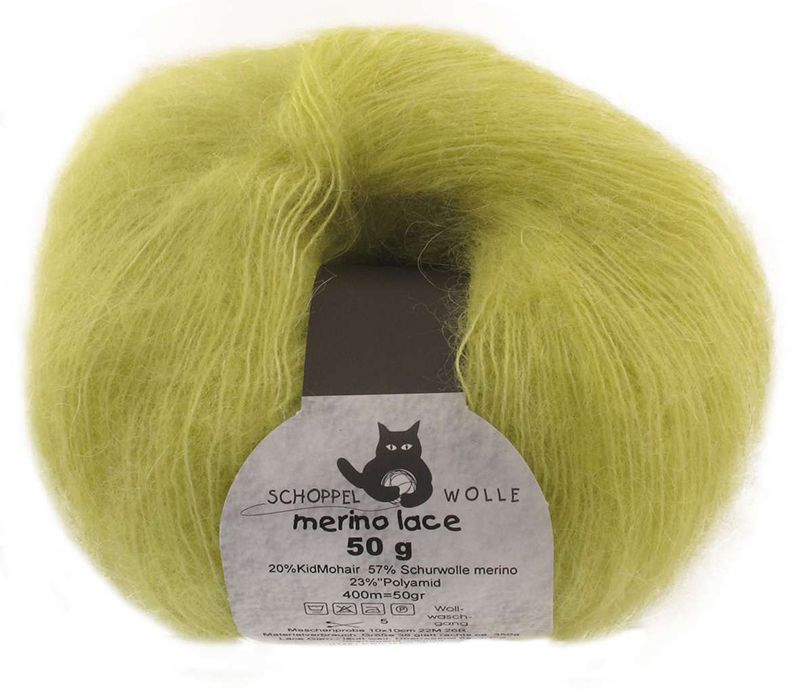 Schoppel-Wolle MERINO LACE 6770 spring grass