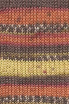 SUPER SOXX ALPACA orange/brown print 52