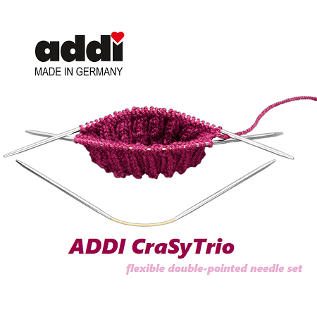 Addi Made in Germany - CraSy Trio double pointed knitting needles